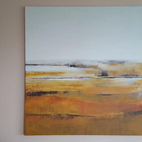 Achterland 15 - oliverf op linnen - 130 x 150 cm - verkocht