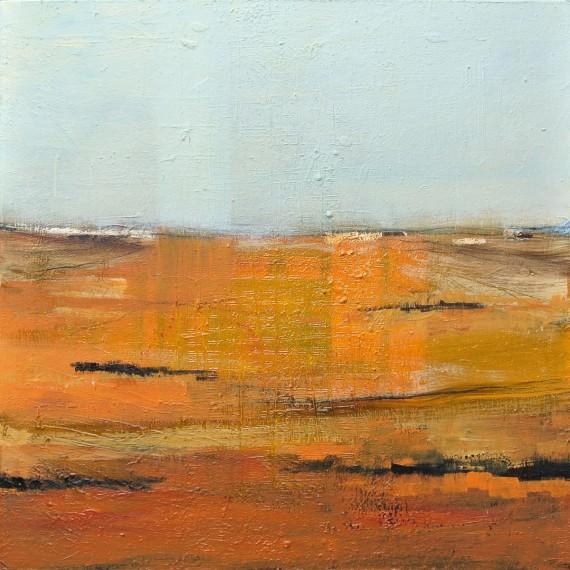 Achterland 02 - olie op canvas - 100x100cm - € 1.500,-