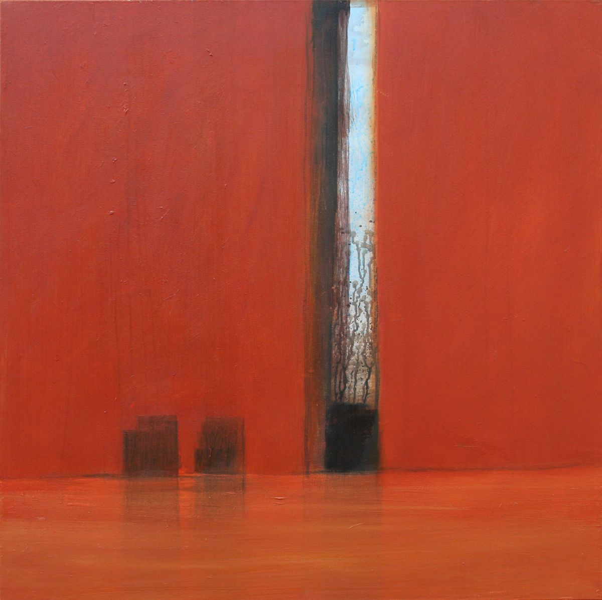 Passage 01 - 100x100cm - oil on canvas - verkocht