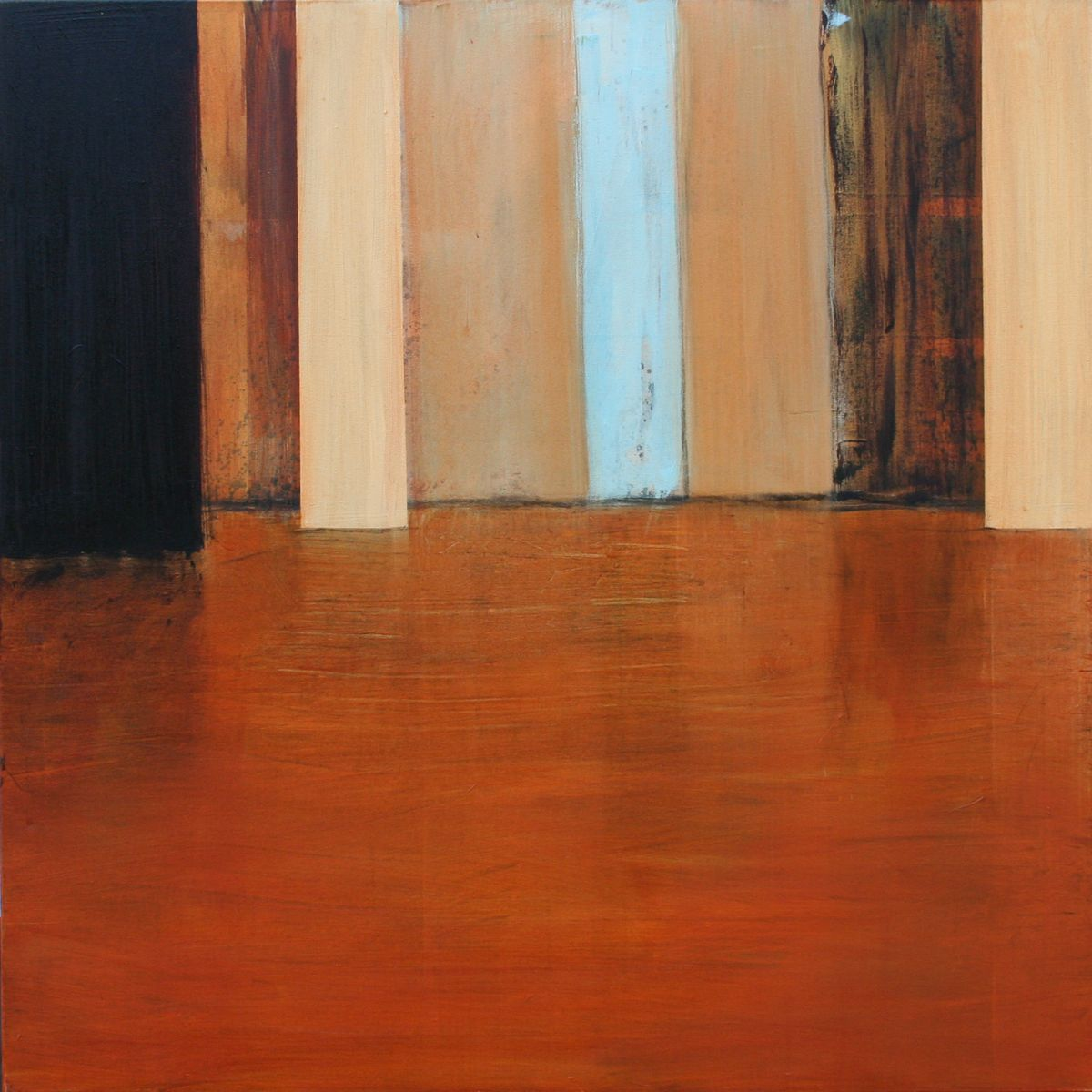 Passage 02 - 100x100cm - oil on canvas - verkocht