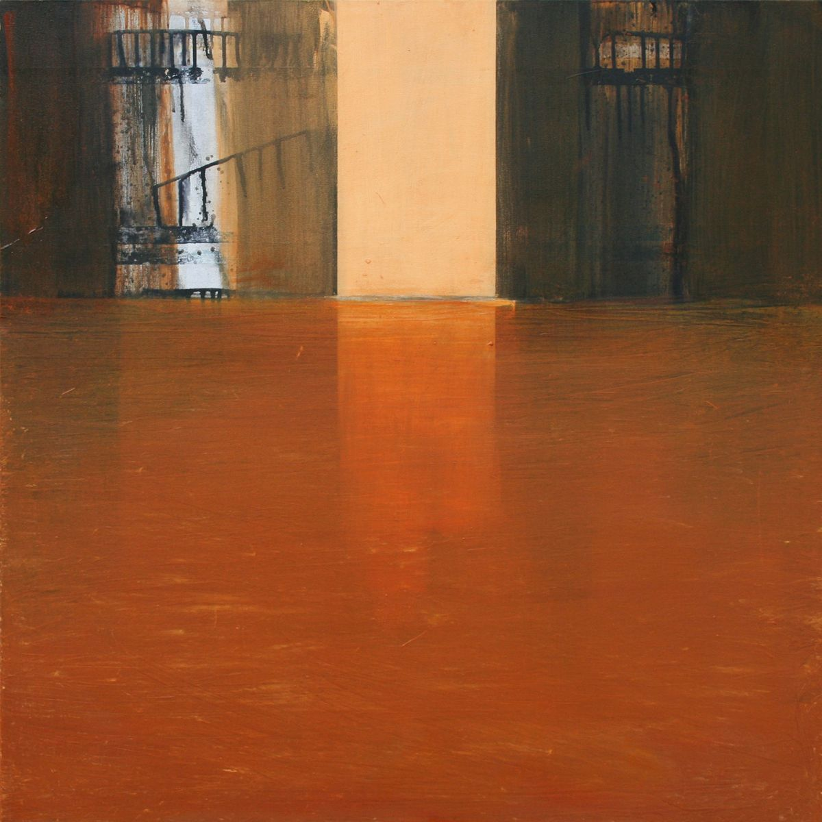 Passage 09 - 100x100cm - oil on canvas
