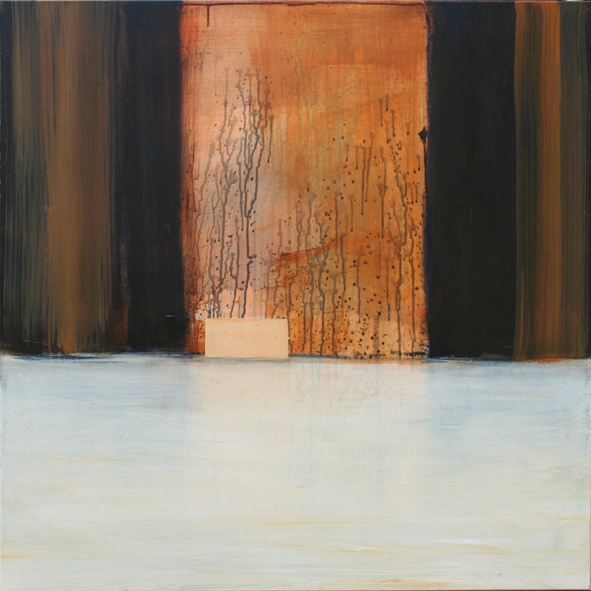 Passage 10 - 100x100cm - oil on canvas - verkocht