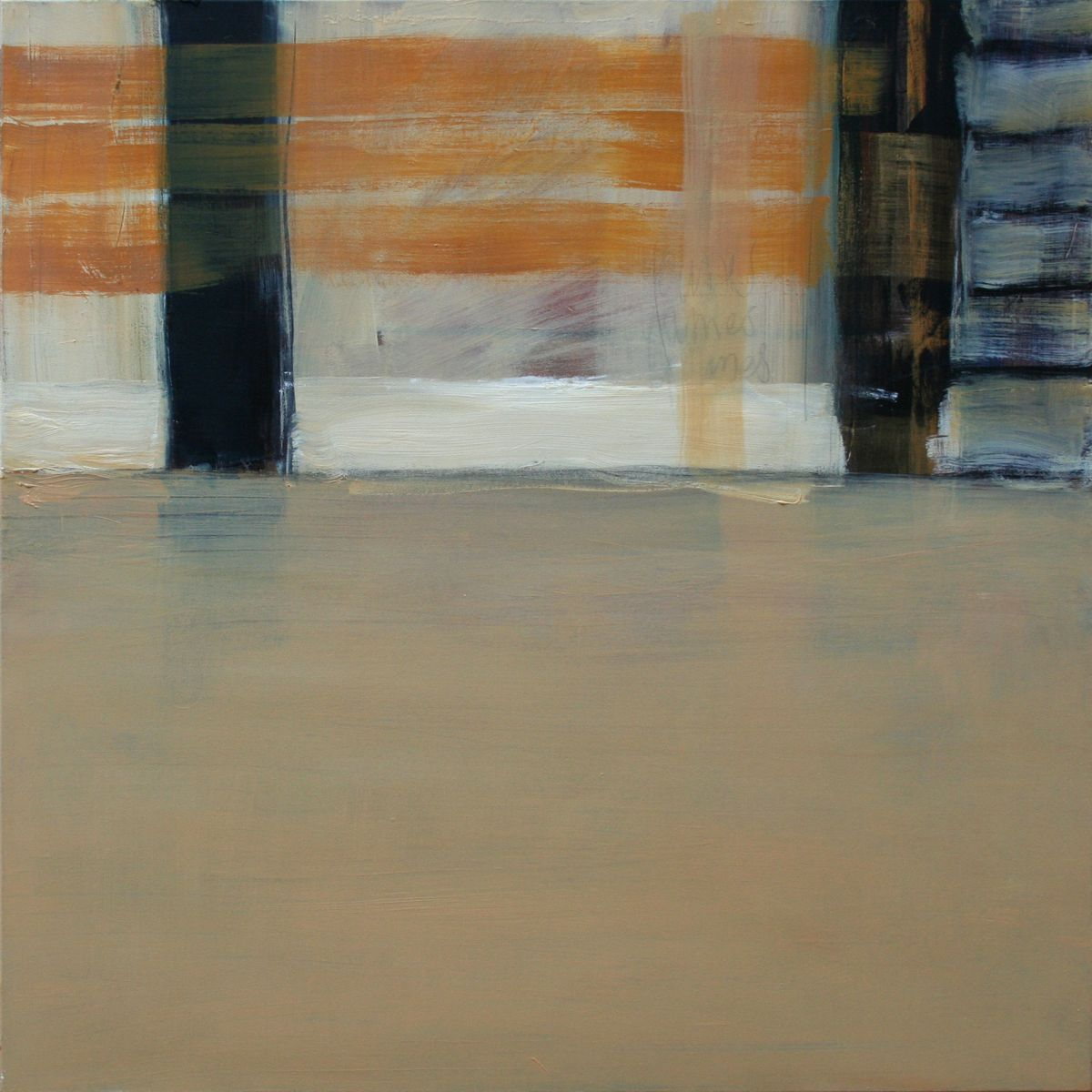 Passage 12 - 100x100cm - oil on canvas