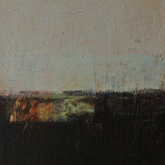 Laagland 09 - 60x50 - oil on linen - € 600,-
