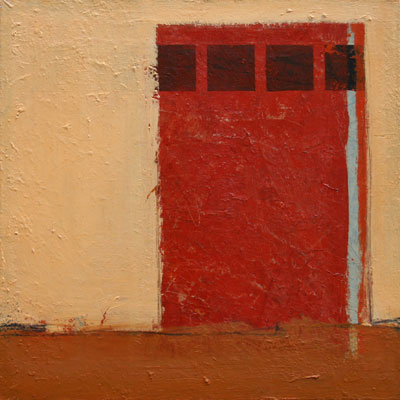 Coulisses 04 - olieverf op linnen - 70x70 - € 600,-